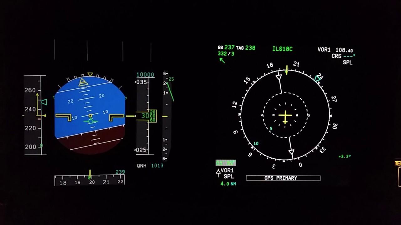 A320 pfd nd takeoff raw data 5000ft