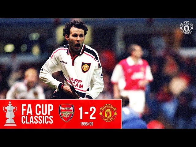 Giggs wonder goal sinks Gunners at Villa Park | Arsenal 1-2 Man United (1999) | FA Cup Classic