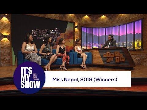 Miss Nepal  2018 Winners  Its my show with Suraj Singh Thakuri  26 May 2018