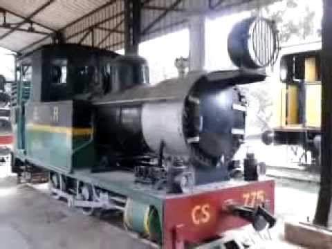 RESTING GIANTS - OLD LOCOMOTIVES at National Rail Museum - New Delhi -Steam Nostalgia - PART 1