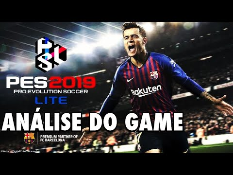 ANALISE - PRO EVOLUTION SOCCER 2019 LITE PS4