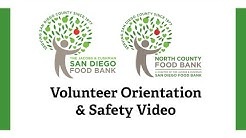San Diego Food Bank – Volunteer Orientation & Safety Video