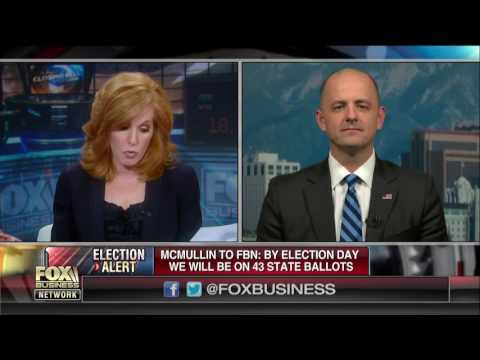 Time to meet presidential candidate Evan McMullin