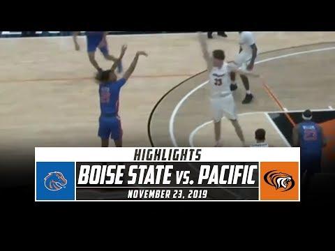 Boise State Vs. Pacific Basketball Highlights (2019-20) | Stadium