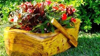 Оригинальные идеи для дачи и сада.  Дача - как стиль жизни / Garden Ideas / A - Video