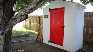 Make a Barn Style Door for less than $40
