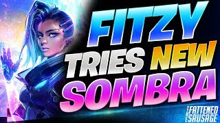 """Sombra GOD """"FitzyHere"""" Tries NEW SOMBRA In Competitive!"""