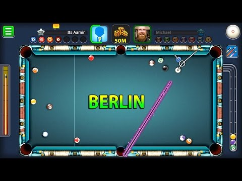 8 Ball Pool- Berlin Platz 50M w/Black Hole Cue