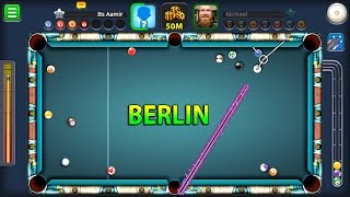 8 Ball Pool- Berlin Platz 50M w/Black Hole Cue