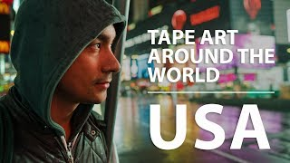 Tape Art Around the World: USA