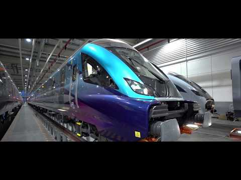 CAF Civity EMUs and passenger cars for TransPennine Express in the UK