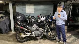 ホーネット250参考動画:大阪ー名古屋まで自走買取したバイク