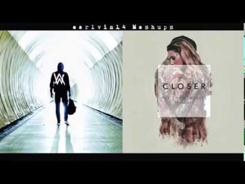 KEREN  !! The Chainsmokers   Closer MIX alan walker faded