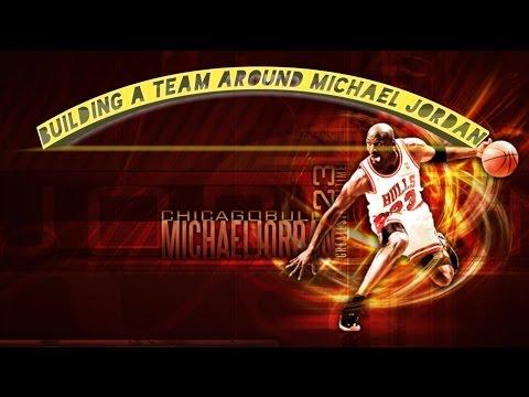 BUILDING A TEAM AROUND MICHAEL JORDAN!!! NBA 2K17 Myleague rebuild challenge. Can we  go 82-0?