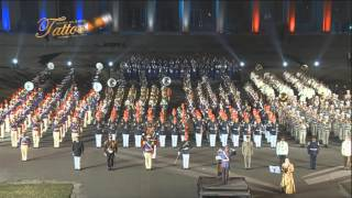 TATTOO MILITAR CHILE 2012 AMAZING GRACE