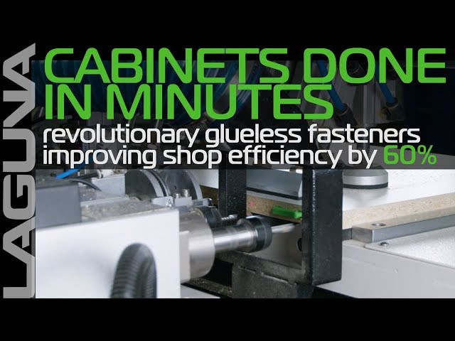 Finished in Minutes - Cabinet Making and Assembly Made Easy with Laguna Tools' SmartShop LD4