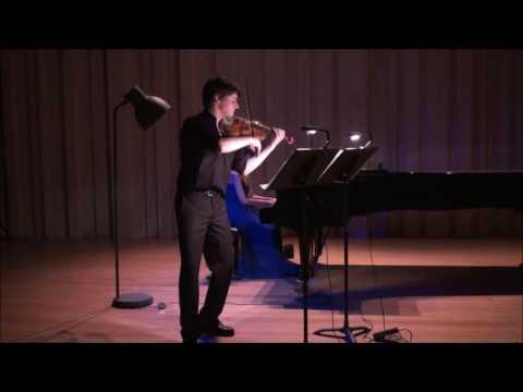 Brahms Violin & Piano Sonata n  1 Francisco Henriques & Bárbara Costa