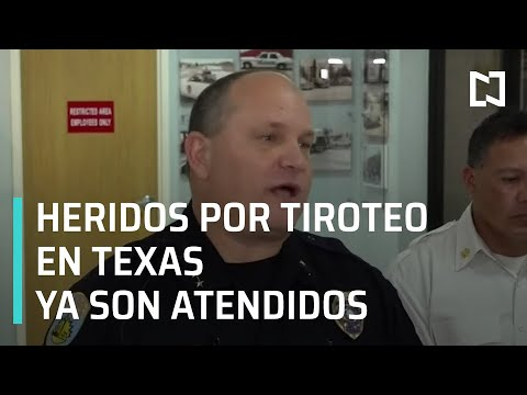 Al menos 21 heridos en Texas, Estados Unidos - Las Noticias