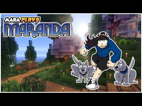 Planning the Bird Aviaries! 🐦 // 72 //  Maranda (Modded Minecraft Let's Play)