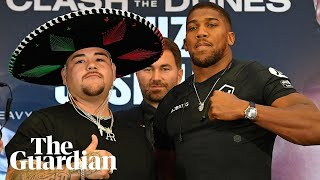 Anthony Joshua calls Andy Ruiz Jr 'the best heavyweight out there'
