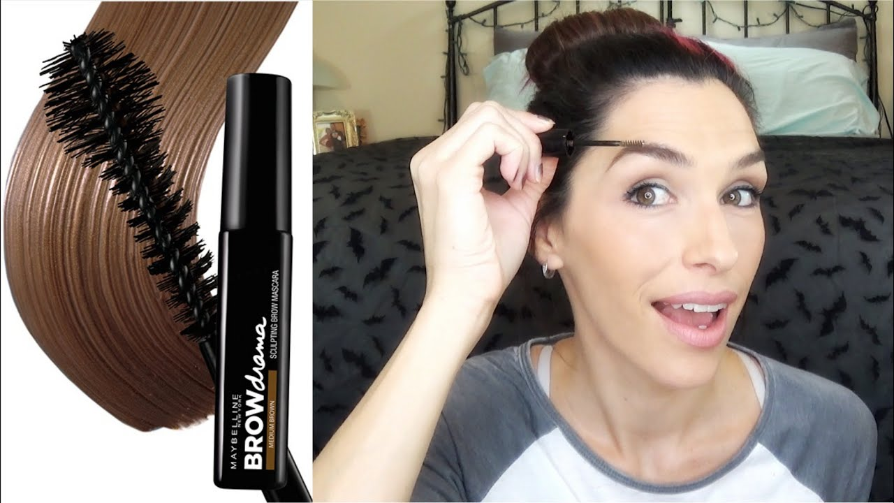 d0fbd32361c MAYBELLINE Brow Drama Sculpting Brow Mascara, Eyebrow Gel Review ...