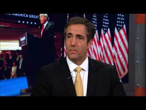 Michael Cohen on The Sean Hannity Radio Show (1/11/2017)