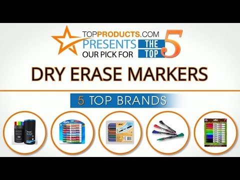 Best Dry Erase Marker Reviews 2017 – How to Choose the Best Dry Erase Marker