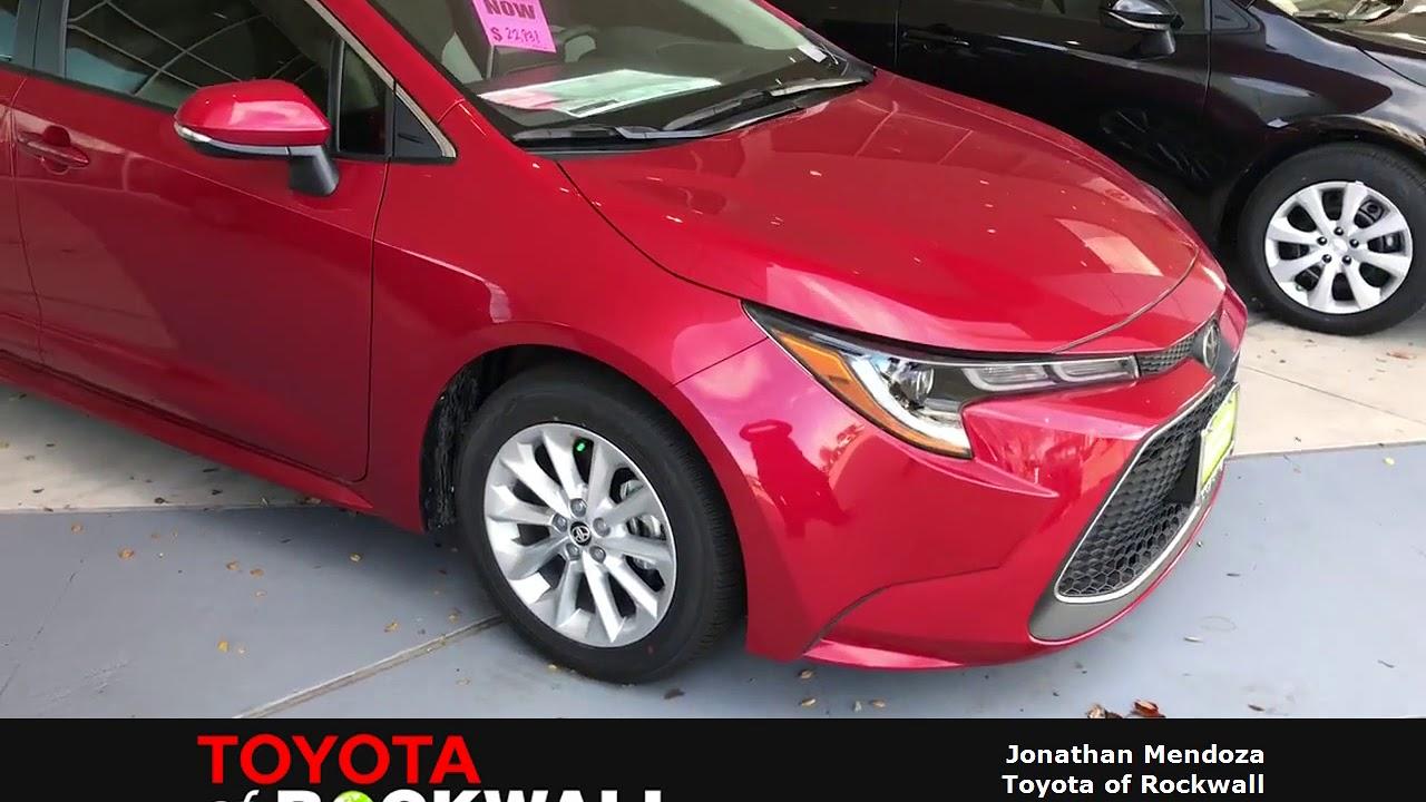 Toyota Of Rockwall >> 2020 Corolla