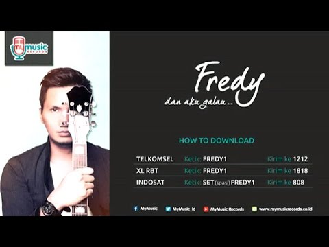 Download lagu Mp3 Fredy - Dan Aku Galau (Official Karaoke Video) terbaik