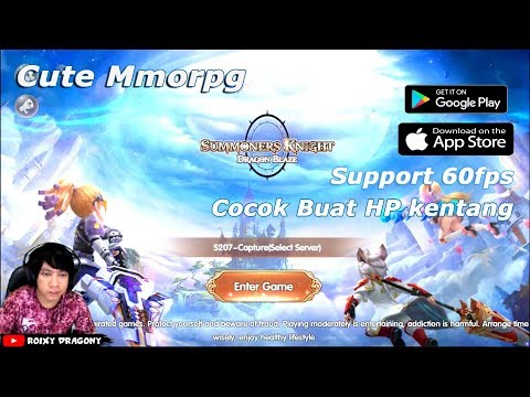Cute MMORPG - Summoners Knight : Dragon Blaze !!! Android/iOS Game