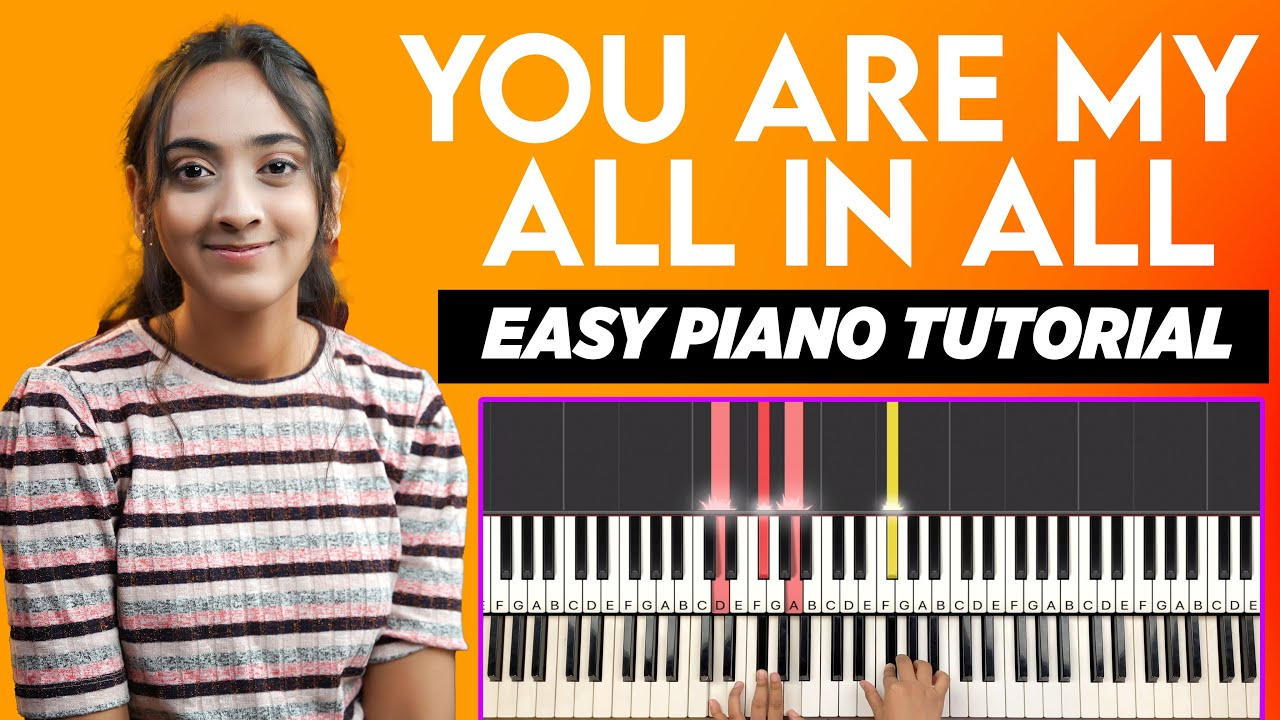 YOU ARE MY ALL IN ALL - CHORDS & NOTES CHART   YESHU KE GEET
