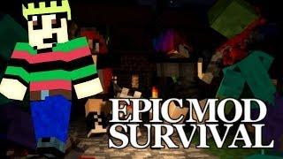 GROTE PUIST OP JE NEUS! - EPIC MOD Survival #3