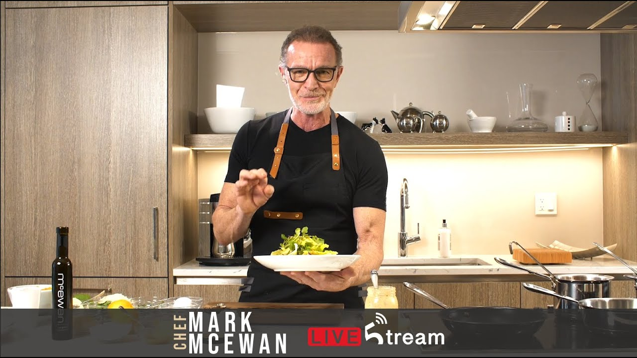 Virtual Cooking Classes with Chef Mark McEwan