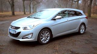 Hyundai i40 cw 1.6 GDI Style teszt