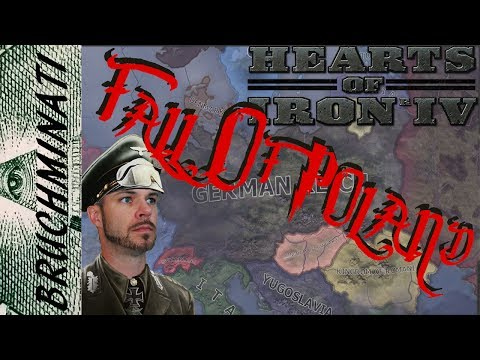 Hearts of Iron 4 | Germany 1936 The Fall Of Poland! Part 2