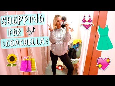 Shopping for Coachella 2018!!