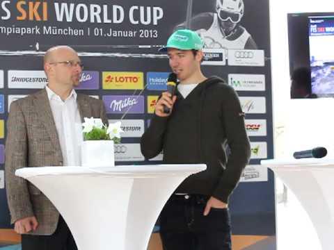 Felix Neureuther im Interview zum Ski-Weltcup Parallelslalom in München