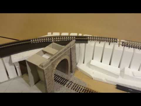 Weekend Engineering 7 – Tunnels, Station Building & Retaining Walls