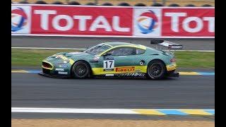 Aston Martin DBR9 GT1 pure Sound  Le Mans 2018