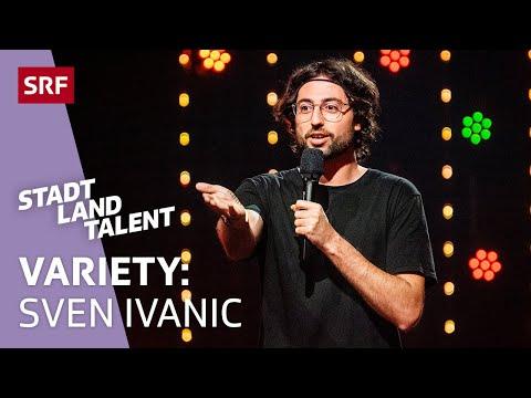 Comedian Sven Ivanic über Znüniboxen | Show 1 | SRF Stadt Land Talent 2021