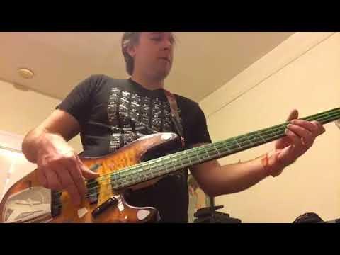 My main bass -- Korean Fender Quilt Top Jazz bass (story time)