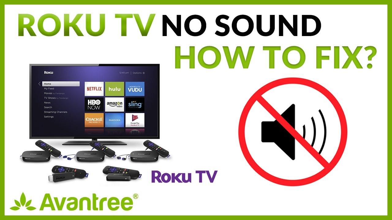Roku Tv No Sound How To Fix Youtube