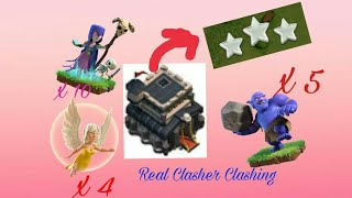 COC:Learning WITCH SLAP-How to Witch Slap-Clash of Clans-TH9 Witch attack 3 stars Strategy-100% Work