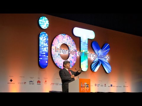 IoTx 2015, Dubai - Mr. Dilip Rahulan's keynote on IoT