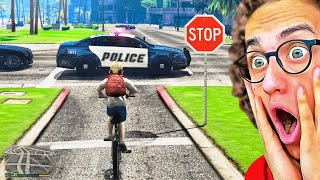Playing GTA 5 As A Kid WITHOUT BREAKING ANY RULES!