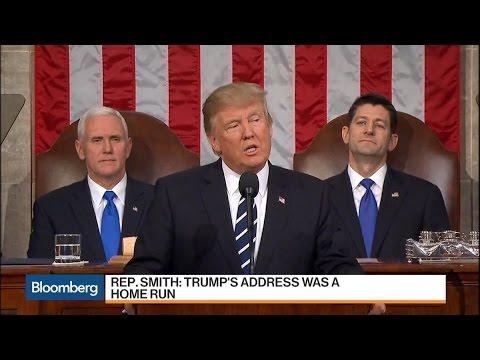Rep. Lamar Smith Calls Trump's Speech a 'Home Run'