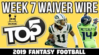 Top Waiver Wire Targets - Week 7 Fantasy Football