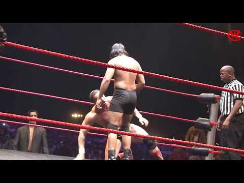 The Great Khali CWE Show at Panipat Chris Masters vs Prajapati