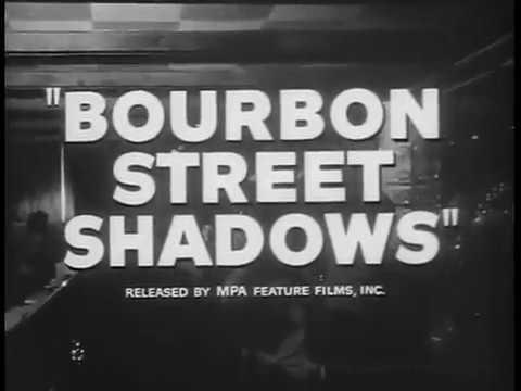 1962 BOURBON STREET SHADOWS    Richard Derr as The Shadow