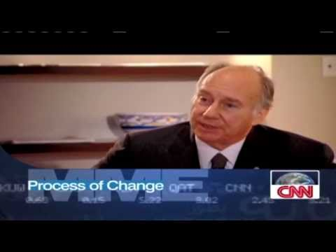 H.H The Aga Khan Interview on CNN: Building boom in the Mideast